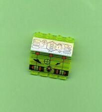 LEGO -- 2582px4 -- charnière -- vert/vert fluo -- imprimé -- 2 x 4 x 1 & 1/3-aus 6915,6979