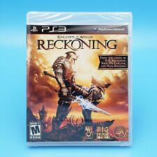 Kingdoms of Amalur: Reckoning PlayStation 3 PS3 2012 Black Label Factory Sealed