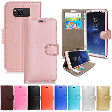 New Genuine Leather Wallet Phone Case Cover FOR SAMSUNG GALAXY A5 2017