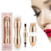 US 4 in 1 Makeup Brush Liquid Foundation Powder Blush Contour Stipple Blending