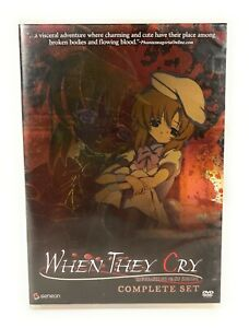 Higurashi: When They Cry: Complete Set (DVD 2006) Region 1 Free Postage