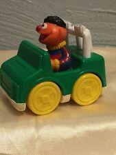 Vintage Sesame Street Ernie Car Jeep Jim Henson Productions 1993 Tyco