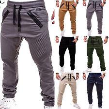 912ec7c7857b Men Trousers Casual Sweatpants Harem Track Pants Joggers Sportwear Slacks  M-3XL