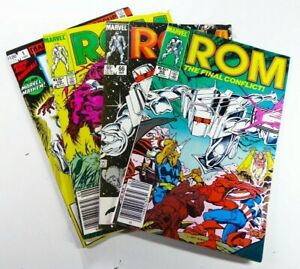 Marvel ROM (1985) #65 66 70 + Annual #1 Lot FN (6.0) to VF (8.0) Ships FREE!