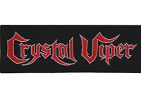 Crystal Viper Logo Patch Official Heavy Metal Band Merch New