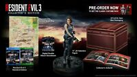 Capcom Resident Evil 3 Collector's Edition PS4 Playstation 4 + Jill Statue