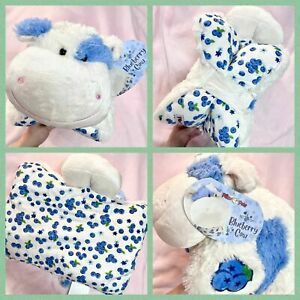 SWEET SCENTED BLUEBERRY COW PILLOW PET WEBSITE EXCLUSIVE FREE SHIPPING IN HAND
