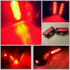 """NEW! Pair of Towaide TA80 Wireless Tow Lights 8"""" magnetic tow truck wrecker RED"""