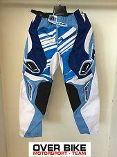 Pantalone Cross,Enduro,Trial, Quad, Ufo Bambino, PI04342, blu/bianco, TG: 34