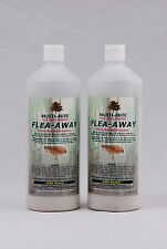 FLEA POWDER - TWIN PACK 400GRAM SHAKER FOR HOME AND PET FLEA AWAY