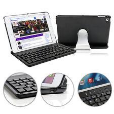 360 Swivel Wireless Bluetooth Key board Hardshell Case Cover Kit for ipad mini 4
