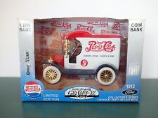 Gearbox Pepsi Cola 1912 Ford Delivery Car Diecast Bank GoodYear