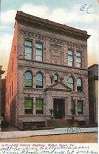 Postcard Odd Fellows Building Wilkes Barre Pa