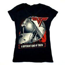 Van Halen Juniors A Different Kind Of Truth 2012 Tour Tee T-Shirt - Black - M