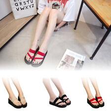 Womens Summer Casual Slippers Flip Flops Flat Sandals Beach Open Toe Shoes Sizes