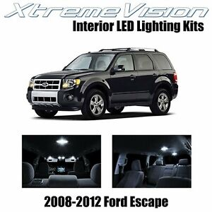 XtremeVision Interior LED for Ford Escape 2008-2012 (8 PCS) Pure White