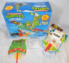 TMNT LEO'S JOLLY TURTLE TUBBOAT W/BOX PLAYMATES TEENAGE MUTANT NINJA TURTLES