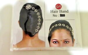 Indian Bollywood Women Head & Hair Band Accessories Bridal Fashion Jewelry