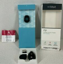 Fitbit Zip Wireless Activity Tracker NIB Open Box FB301C Black  New Battery
