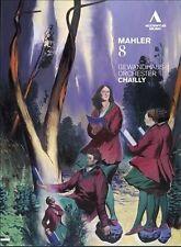 NEW Riccardo Chailly & Leipzig Gewandhaus Orchestra: Mahler 8 (DVD)