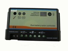 10A Duo-battery solar regulator 12/24v, for two battery solar charge controller1