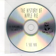 (DV116) The History of Apple Pie, I See You - 2013 DJ CD