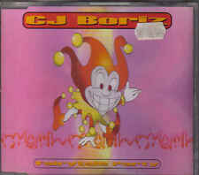 CJ Boriz-Fairytale Party cd maxi single eurodance Holland