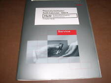 Werkstatthandbuch Audi Cabrio TDI Kraftstoffversorgung