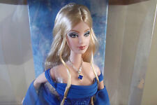 Collector Edition Birthstone Collection September SAPPHIRE Barbie Doll