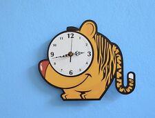 Cute Little Tiger Cartoon Wall Clock