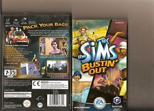 THE SIMS BUSTIN Out NINTENDO GAMECUBE/WII
