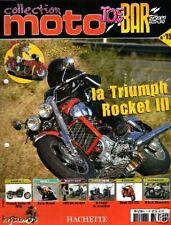 FASCICULE BOOKLET JOE BAR TEAM MOTO BIKE TRIUMPH ROCKET