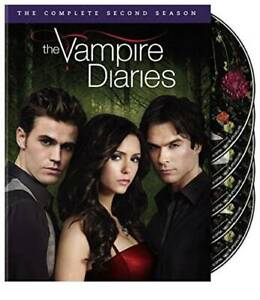 The Vampire Diaries: Season 2 - DVD - VERY GOOD