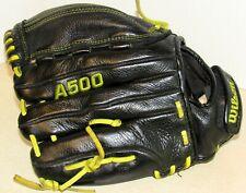 "Wilson A500 Gamesoft Youth Baseball Softball Glove Mitts 11.5"" Rht"