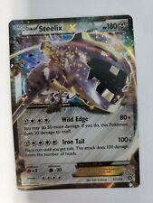 Steelix EX 67/114 Steam Siege Ultra Rare NM-M Pokemon Card