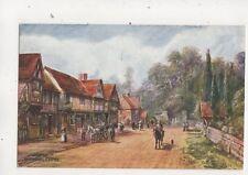Chiddingstone Kent by FW Burton Salmon 854 Vintage Art Postcard 638b