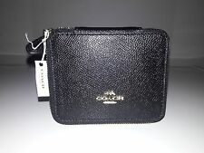 Coach Black Crossgrain Leather Jewelry Box F65502
