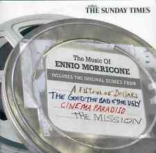 ENNIO MORRICONE: ORIGINAL SCORES - PROMO CD ALBUM (2007) FISTFUL OF DOLLARS ETC