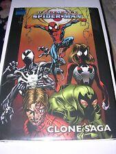 Marvel comics : ULTIMATE SPIDER-MAN : CLONE SAGA, Hardcover Graphic Novel