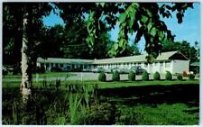 GREAT BARRINGTON, Massachusetts  MA    MONUMENT MOUNTAIN MOTEL  c1950s  Postcard
