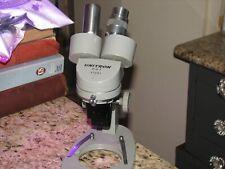 Vintage Unitron M S F 47661 Binocular Microscope For Repair Or Parts
