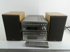 DENON UD-M30 DDR-M30 CD CASSETTE STERO SYSTEM AUDIO/HIFI SETUP WITH SPEAKERS H29