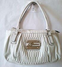 Guess ABILENE white satchel handbag NWT 100% AUTHENTIC