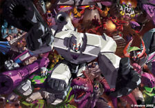 "TRANSFORMERS POSTER: Megatron (all versions of Megatron)  27"" x 39.5"""