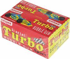 Full box chewing bubble gum Turbo  original Russian 100 pcs. жевачка Турбо