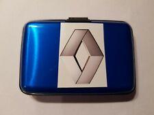 RENAULT STYLE HGV TRUCKER RFID DIGI CARD/LICENSE/CPC CARD/ADR CARD HOLDER BLUE