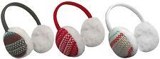 Ohrwärmer Ohrschützer Earmuffs mit kuscheligem Pelzimitat für Kinder - NEU