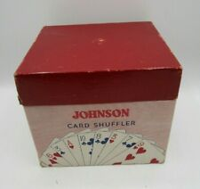 New ListingVintage 1940'S Manual Nestor Johnson Mfg Card Shuffler Model No. 50 W/Box
