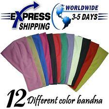 Lot 12 Egyptian Cotton Headband Bandana Underscarf Hijab Bonnet Cap Head wear