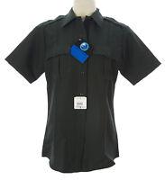 FLYING CROSS Women's Green Hidden Zip Coldblack Uniform Shirt $45 NEW